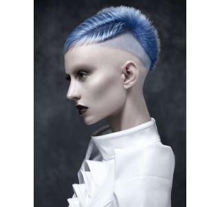 Inspiration et coloration du lundi bleu